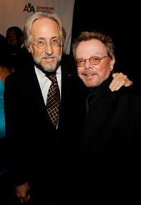 Neil Portnow and Paul Williams at the 40th Annual Songwriters Hall of Fame Ceremony.
