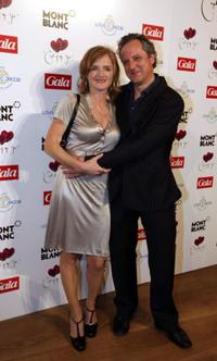 Nina Petri and Christoph Benkelmann at the Couple of the Year Event.