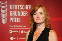 Nina Petri at the German Entrepreneur Award ceremony.