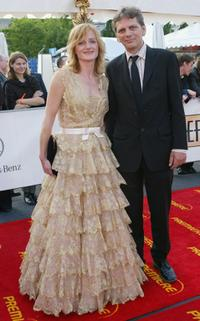 Nina Petri and Guest at the German Film Awards.