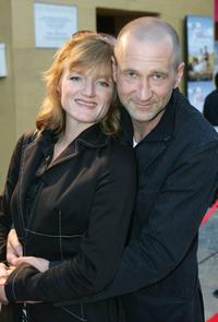 Nina Petri and Peter Lohmeyer at the Berlin premiere of