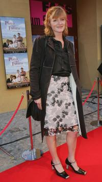 Nina Petri at the Berlin premiere of