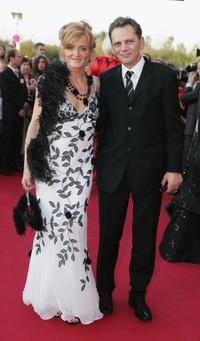 Nina Petri and Michael Hett at the German Television Awards.