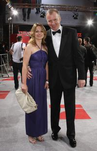 Katja Ohneck and Ludger Pistor at the German premiere of