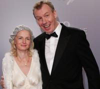 Ludger Pistor and Emanuela von Frankenberg at the German premiere of