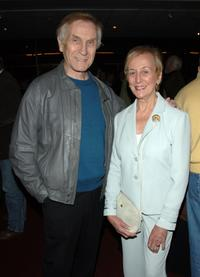 Mark Richman and Helen Richman at the Screening of
