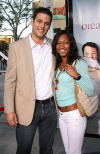 Ivan Sergei and Guest at the World premiere of