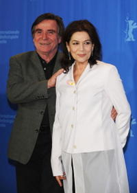 Elmar Wepper and Hannelore Elsner at the 58th Berlinale Film Festival.