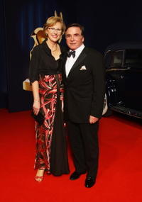 Anita Wepper and Elmar Wepper at the Bambi Awards 2008.
