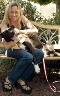 Kari Whitman at the Festival of Animals to benefit the Animal Rescue Organizations.