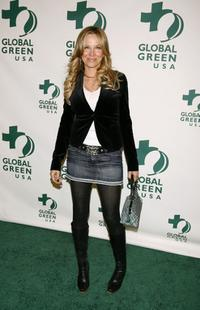 Kari Whitman at the Global Green USA 3rd annual pre-Oscar party.