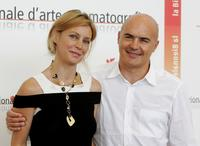 Margherita Buy and Luca Zingaretti at the photcall of