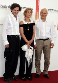 Goran Bregovic, Margherita Buy and Luca Zingaretti at the photocall of