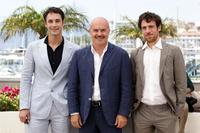 Raoul Bova, Luca Zingaretti and Elio Germano at the 63rd Annual Cannes Film Festival.