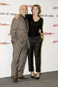 Luca Zingaretti and Valeria Golino at the photocall of