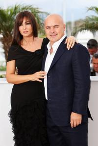 Monica Bellucci and Luca Zingaretti at the photocall of
