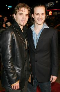 Richard Lee Jackson and Jonathan Jackson at the Los Angeles premiere of