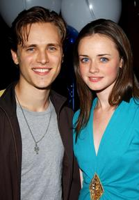 Jonathan Jackson and Alexis Bledel at the Bledel's 21st Birthday party celebration.