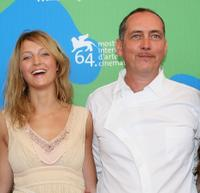 Stephanie de Crayencour and Serge Renko at the photocall of
