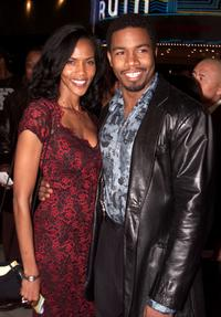 Jacqueline Walker and Michael Jai White at the premiere of