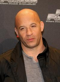 Vin Diesel at the Europe premiere of