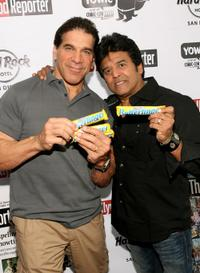 Lou Ferrigno and Erik Estrada at the Comic-Con 2010.