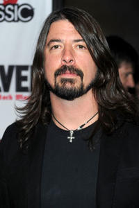 Dave Grohl arrives at the 2nd annual Revolver Golden Gods Awards held at Club Nokia on April 8, 2010 in Los Angeles, California.