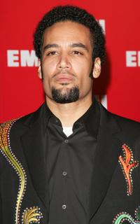 Ben Harper at the EMI Post Grammy party.
