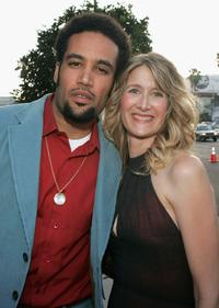 Ben Harper and Laura Dern at the premiere of