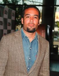 Ben Harper at the private screening of