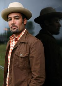 Ben Harper at the 2008 All Points West Music and Arts Festival.