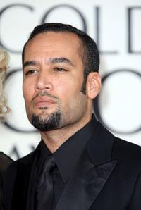 Ben Harper at the 66th Annual Golden Globe Awards.