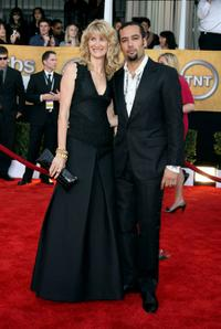 Laura Dern and Ben Harper at the 15th Annual Screen Actors Guild Awards.