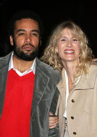 Ben Harper and Laura Dern at the Los Angeles premiere of