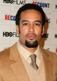 Ben Harper at the premiere of