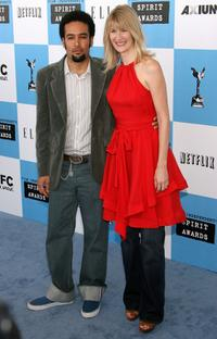 Ben Harper and Laura Dern at the 22nd Annual Film Independent Spirit Awards.