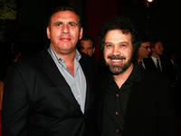 Graham King and director Edward Zwick at the premiere of