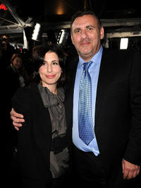 Sue Kroll and Graham King at the premiere of
