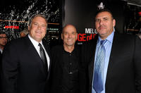 Producer Tim Headington, director Martin Campbell and Graham King at the premiere of