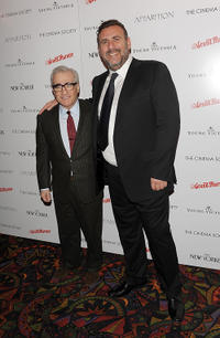 Producer Martin Scorsese and Graham King at the special screening of