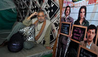 Sanjay Mishra at the press conference of