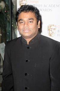 A.R. Rahman at the Orange British Academy Film Awards.