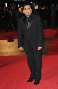 A.R. Rahman at the European premiere of