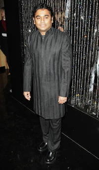 A.R. Rahman at the Swarovski Hosts