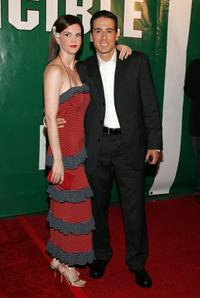 Kiersten Warren and Kirk Acevedo at the premiere of