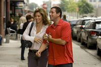 Jessica Biel and Adam Sandler in
