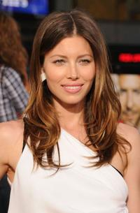 Jessica Biel at the California premiere of