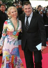 Jean-Marie Bigard and Guest at the 60th edition of the Cannes Film Festival.