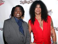James Brown and Slash at the Miller Rock Thru Time Concert.