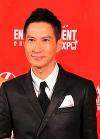 Nick Cheung at the Asian Film Awards 2009.
